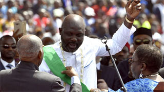 George Weah President of Liberia